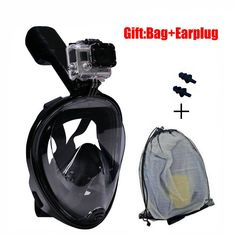 ==> [Free Shipping] Buy Best Gopro Diving Mask Full Face Spearfishing Mask Snorkel Scuba For Swimming Silicone Plastic Glasses Children/Adult Training Mask Online with LOWEST Price   32799082479