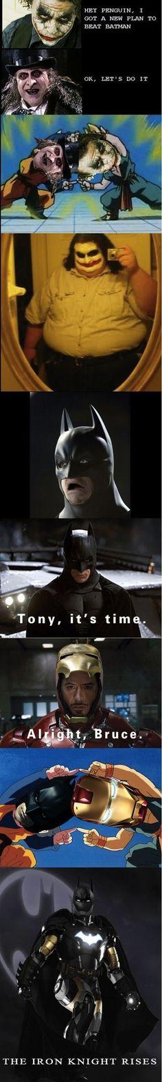 The Iron Knight Rises.