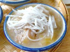 ขนมกล้วย สูตรเหนียวนุ่ม ,ฺSteamed Banana Cake(Thai dessert)
