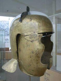 ce7e147dddf Niederbieber type unfinished helmet from Rheinau-Buch