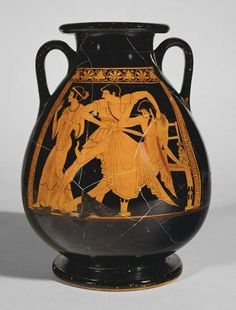 Nacimiento de atenea ceramica griega laura cristina - Ceramicas sanchez ...