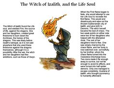 Dark Souls Lore - The Witch of Izalith