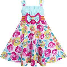 FJ54 Sunny Fashion Girls Dress Big Girls Flower Blue Tank Party Cute Size 7 Sunny Fashion http://www.amazon.com/dp/B00PFBVX2S/ref=cm_sw_r_pi_dp_vp5ovb1W0WDTA