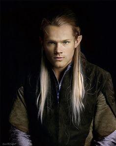 jared padalecki as legolas Legolas, Thranduil, Fellowship Of The Ring, Lord Of The Rings, Midle Earth, Earth Memes, Mirkwood Elves, Rr Tolkien, Elf King