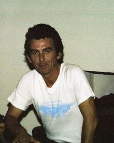 George ~ ONE OF MY MOST FAVORITE PICTURES OF HIM. DAM HE WAS BEAUTIFUL!
