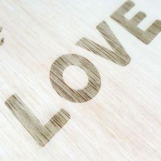 LOVE. #woodlasercut #scan #love #quote #instagramers #woodwerk #alphabet #helsinki #artport #lasercutting by artport_my