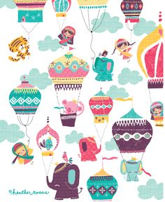 Heather Rosas Illustration: Greetings from India!