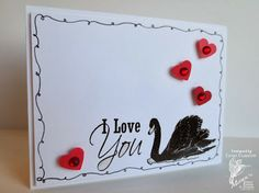 Paper, Ribbon, and Thread: MFP January Blog Hop Part #2, Day #1 - Swans (January 2014)