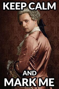 Outlander. Prince Charles Stuart. Mark Me.