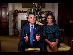 The President and First Lady wish Americans a Merry Christmas and Happy Holidays in a special weekly address