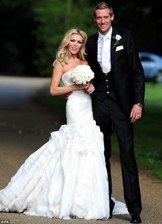 Abbey Clancy-Crouch wedding gown