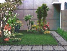 Trendy ideas for backyard patio garden landscape design front yards Small Garden Landscape, Modern Landscape Design, Small Backyard Gardens, Modern Landscaping, Small Gardens, Backyard Landscaping, Garden Modern, Backyard Patio, Small Patio