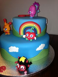Moshi Monsters Cake   Flickr - Photo Sharing!