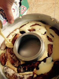 Bolo de Banana com Leite Condensado