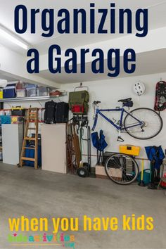 If your garage looks anything like mine, then you could probably benefit from some of these cleaning the garage tips. Come see them here at KAB! Crafts For Teens To Make, Crafts To Sell, Home Crafts, Easy Crafts, Diy And Crafts, Dollar Store Crafts, Dollar Stores, Diy Cleaning Products, Cleaning Hacks