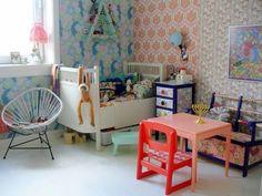 .Great kid's room.