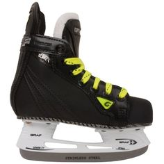 Graf Supra 535 Yth. Ice Hockey Skates Size 12c Black/silver -- Find out more about the great product at the image link.