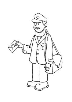 community helpers coloring sheets free printable community helper coloring pages for kids - Free Coloring Sheets