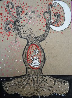 Paloma ilustrada: Nuevos arquetipos femeninos: las mujeres y sus fases