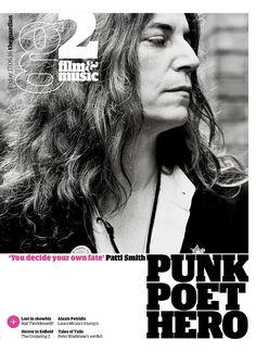 Guardian g2 cover: Patti Smith