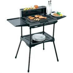 Unold barbecue 58565 Vario electric grill stand with table grill