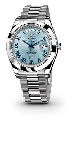 ROLEX, The Oyster Perpetual Day-Date II - Retail $62,500 (It's  made of platinum) GLAMOROUS BANANAS!