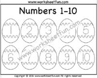 Easter Worksheets – Number Tracing – – One Worksheet / FREE Printable Worksheets – Worksheetfun Numbers Preschool, Free Preschool, Preschool Learning, Preschool Activities, Easter Worksheets, Printable Preschool Worksheets, Tracing Worksheets, English Grammar For Kids, Number Tracing