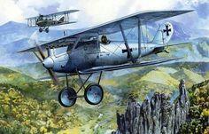 Pfalz D.lll, Ltn Emil Thuy, Jasta 28