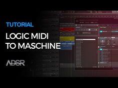 Maschine tutorial - Working with Maschine in Logic Pro X - YouTube