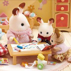 Sylvanian Families, Disney Food, Furry Art, Hello Kitty, Cute Animals, Miniatures, Teddy Bear, Stickers, Toys