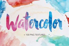 Watercolor Textures by Efe Gürsoy on Creative Market