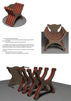 Fisármónica, el sillón multifuncional que se convierte en una mesa con 4 sillas de Antonio Di Meo. ¿Te gusta? Dale tu voto en nuestra web para hacerlo realidad
