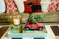 This home is charming! Fun and eclectic Christmas home tour with loads of vintage charm. Christmas Home, Christmas Ideas, Christmas Decorations, Festival Decorations, House Tours, Festive, Decorating Ideas, Merry, Events