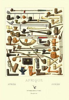 Vintage various pipe Ad
