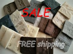 50% SALE 12 Neutral BRA Closures 2 hooks FREE Shipping by | Etsy Bra Hooks, Sale 50, Diy Kits, Beachwear, Swimwear, Neutral Colors, I Shop, Sewing Patterns, Trending Outfits