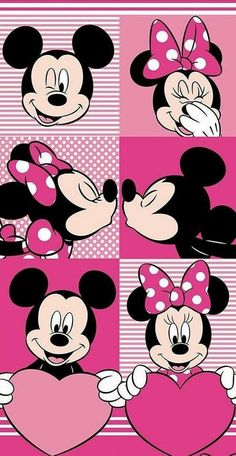 Image about wallpaper in mickey & minnie mouse💖 by A♡ LOVE LIVE Mickey Mouse Y Amigos, Minnie Y Mickey Mouse, Mickey Love, Mickey Mouse And Friends, Mickey Mouse Wallpaper Iphone, Cute Disney Wallpaper, Cartoon Wallpaper, Iphone Wallpaper, Wallpaper Backgrounds