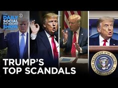 The FULL List of Trump's Most Tremendous Scandals | The Daily Social Distancing Show - YouTube