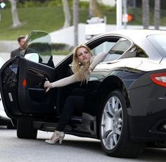 Britney Spears choice for her Celebrity Cars is the Maserati Gran Turismo