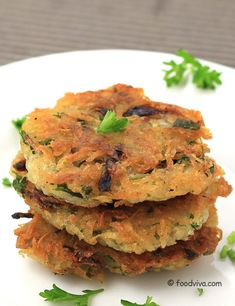 Grated Potato Pancakes for Breakfast - Step by Step photo Recipe