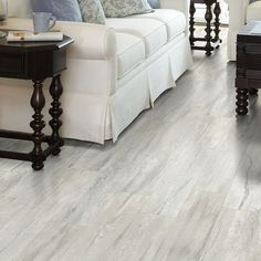 Shaw Floors Stately Charm x x Vinyl Plank in Palatial Best Vinyl Flooring, Waterproof Laminate Flooring, Slate Flooring, Hardwood Floors, Flooring Ideas, White Vinyl Flooring, Home Design, Küchen Design, Design Ideas