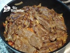 kuzu kulbasti tarifi, meat foods Source by dinner_recipe Flank Steak Recipes, Meat Recipes, Dinner Recipes, Iftar, Italian Chicken Dishes, Kebab, Fish And Meat, Food Articles, Middle Eastern Recipes