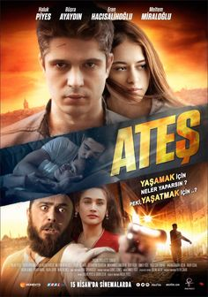 Ateş Filmi Afişi Film Movie, Movies, Films, Office Wall Art, Tv Shows, Entertaining, In This Moment, Graphic Design, Movie Posters