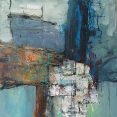 Kell Jarner. Acryl på lærred, 100 x 100 cm, 2014 (privateje)
