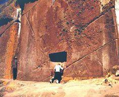 Redescubierta en Perú una Puerta Estelar - Puerta de Hayu Marca - Entrada de Aramu Muru