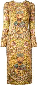 Dolce & Gabbana ecclesiastical print dress on shopstyle.com