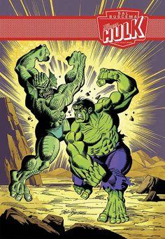 Incredible Hulk - Marvel Artist Select Series Cover By Sal Buscema Marvel Comics Superheroes, Hq Marvel, Marvel Comic Universe, Disney Marvel, Marvel Characters, Marvel Heroes, Comic Villains, Comic Book Heroes, Comic Books Art
