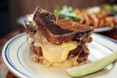 Hampton and Hudson is located in Inman Park. Hampton and Hudson has become on of my favorite places to dine. The patty melt is my favorite menu item.