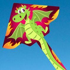 Воздушный змей Веселый дракончик http://kite.net.ua/