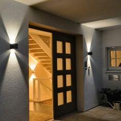 Ixa LED Wandleuchte / verstellbare Winkel / Anthrazit
