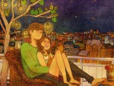 What Love Looks Like - Puuung http://www.grafolio.com/puuung1/illustration.grfl